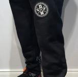Spodnie dresowe DM czarne