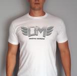 "T-shirt DM ""3"" biały"