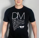 "T-shirt DM ""Pasja"" czarny"