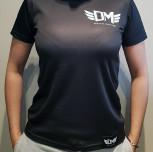 """T-shirt DM """"Polirash"""" czarny damski"""