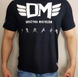 "T-shirt DM ""TCM2017"" czarny"