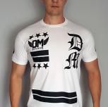 "T-shirt DM ""Team"" biały"