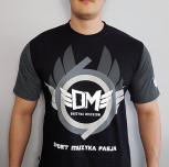 "T-shirt DM ""RING"" szary"