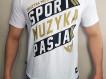 """T-shirt DM """"Motto2017"""" biały"""